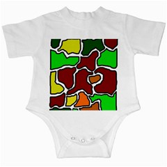 Africa Abstraction Infant Creepers by Valentinaart