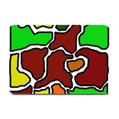 Africa Abstraction Plate Mats by Valentinaart