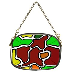 Africa Abstraction Chain Purses (two Sides)  by Valentinaart