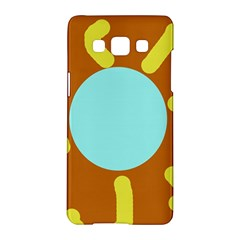 Abstract sun Samsung Galaxy A5 Hardshell Case  by Valentinaart