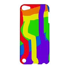 Rainbow abstraction Apple iPod Touch 5 Hardshell Case