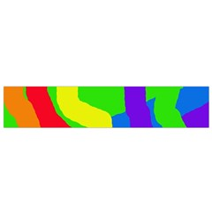 Rainbow Abstraction Flano Scarf (small) by Valentinaart