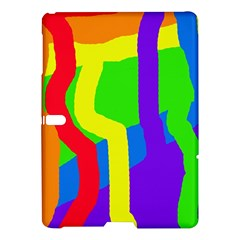 Rainbow Abstraction Samsung Galaxy Tab S (10 5 ) Hardshell Case  by Valentinaart
