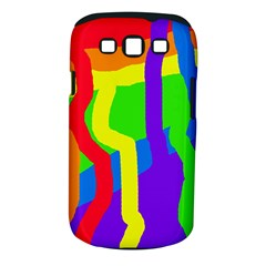Rainbow Abstraction Samsung Galaxy S Iii Classic Hardshell Case (pc+silicone) by Valentinaart