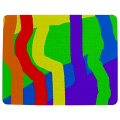 Rainbow Abstraction Jigsaw Puzzle Photo Stand (rectangular)