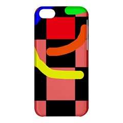 Multicolor Abstraction Apple Iphone 5c Hardshell Case by Valentinaart