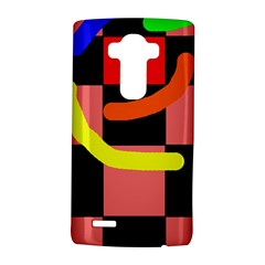 Multicolor abstraction LG G4 Hardshell Case by Valentinaart