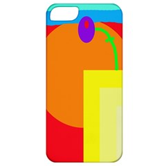 Colorful Abstraction Apple Iphone 5 Classic Hardshell Case by Valentinaart