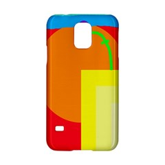 Colorful Abstraction Samsung Galaxy S5 Hardshell Case  by Valentinaart