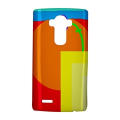 Colorful Abstraction Lg G4 Hardshell Case by Valentinaart