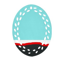 Simple Decorative Design Ornament (oval Filigree)  by Valentinaart
