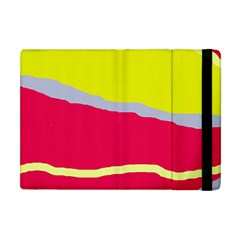 Red And Yellow Design Apple Ipad Mini Flip Case by Valentinaart