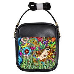 Garden Girl s Sling Bag by DryInk