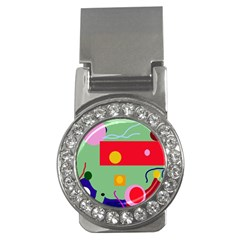 Optimistic Abstraction Money Clips (cz)  by Valentinaart