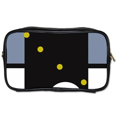 Abstract Design Toiletries Bags 2 Side by Valentinaart