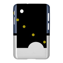 Abstract Design Samsung Galaxy Tab 2 (7 ) P3100 Hardshell Case  by Valentinaart
