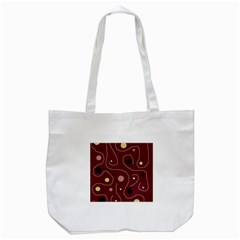 Elegant Design Tote Bag (white) by Valentinaart