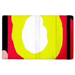 Colorful Abstraction Apple Ipad 2 Flip Case by Valentinaart