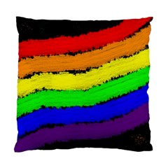 Rainbow Standard Cushion Case (two Sides) by Valentinaart