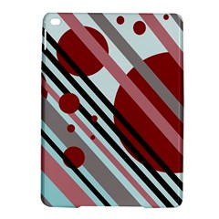 Colorful Lines And Circles Ipad Air 2 Hardshell Cases by Valentinaart