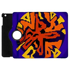Orange Ball Apple Ipad Mini Flip 360 Case by Valentinaart