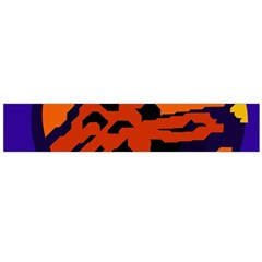 Orange Ball Flano Scarf (large) by Valentinaart