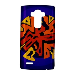 Orange Ball Lg G4 Hardshell Case by Valentinaart
