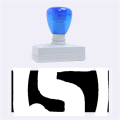 Number Five Rubber Stamps (large)