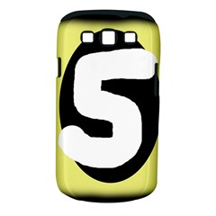 Number five Samsung Galaxy S III Classic Hardshell Case (PC+Silicone) by Valentinaart