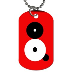 Number Eight Dog Tag (one Side) by Valentinaart