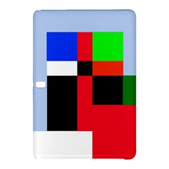 Colorful Abstraction Samsung Galaxy Tab Pro 12 2 Hardshell Case by Valentinaart