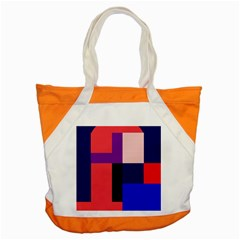 Colorful Abstraction Accent Tote Bag by Valentinaart