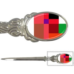 Colorful abstraction Letter Openers by Valentinaart