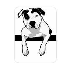 Pit Bull T Bone Graphic  Double Sided Flano Blanket (mini)  by ButThePitBull