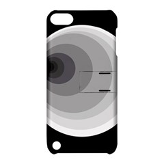Gray abstraction Apple iPod Touch 5 Hardshell Case with Stand by Valentinaart
