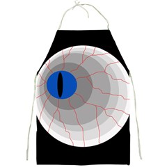 Blue Eye Full Print Aprons by Valentinaart