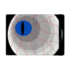 Blue Eye Ipad Mini 2 Flip Cases by Valentinaart