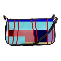Abstract Landscape Shoulder Clutch Bags by Valentinaart