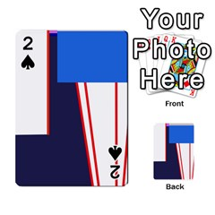 Decorative Abstraction Playing Cards 54 Designs
