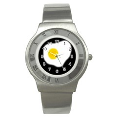 Egg Stainless Steel Watch by Valentinaart