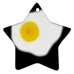 Egg Star Ornament (two Sides)  by Valentinaart