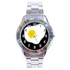 Egg Stainless Steel Analogue Watch by Valentinaart