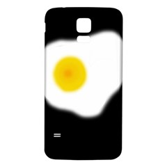 Egg Samsung Galaxy S5 Back Case (white) by Valentinaart