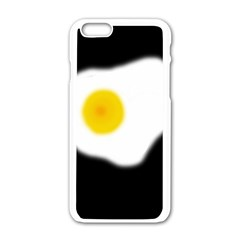 Egg Apple Iphone 6/6s White Enamel Case by Valentinaart