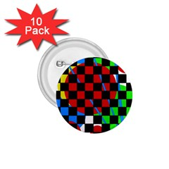 Colorful Abstraction 1 75  Buttons (10 Pack) by Valentinaart
