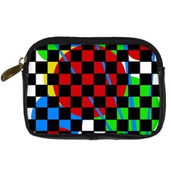 Colorful Abstraction Digital Camera Cases by Valentinaart