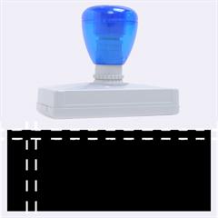 Elegant Design Rubber Address Stamps (xl) by Valentinaart