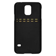 Elegant Design Samsung Galaxy S5 Case (black) by Valentinaart