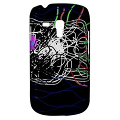 Neon Fish Samsung Galaxy S3 Mini I8190 Hardshell Case by Valentinaart