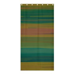 Watercolors                                                                                     	shower Curtain 36  X 72  by LalyLauraFLM